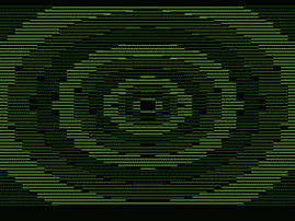 Full Screen Bitmap (3-D Green)